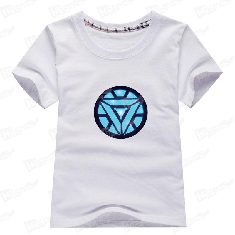 Iron Man Family Matching T-shirts Printing For Kids